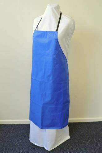Bib Apron Wipe Down Nylon, Colours White Navy Red Burgandy Forest Green Royal Blue