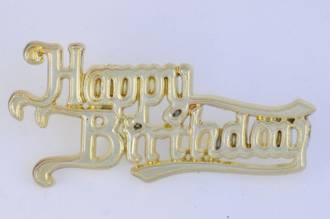 65mm Happy Birthday Gold (6)