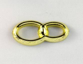 Double Ring Gold 25mm (6)