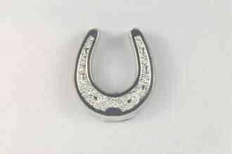 Horseshoe Silver 15mm (12)