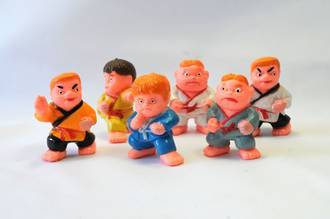 Ninja Figures, Assorted, 50mm