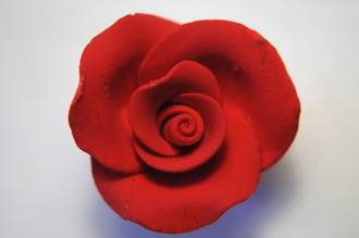 Icing Red Roses 30mm, box of 52