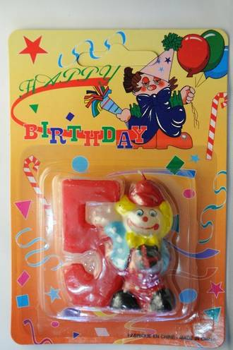 Cancel Clown Number #5 (50mm)