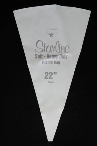 "Starline Pastry Bags  55cm, 22"" Single Bag, flexible medium weight"