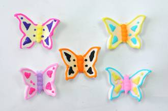 Butterflies,30mm (Gum Paste - Box of 160)  - SOLD OUT