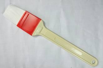 Grease/Glaze Brush, 40mm wide, Nylon Bristle (Protection rim, Heat resistant to 120 deg c.)