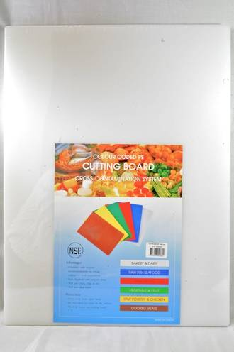 Cutting Board Size 30 x 45cm White