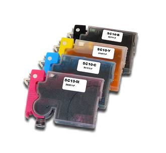 Epson 4 Pce Set Edible Cartridges (PRINTERS: XP200, XP300, XP400)