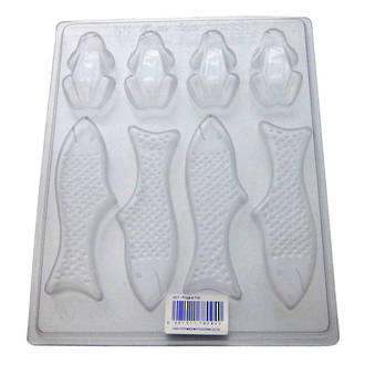 Frogs & Fish Mould (0.6mm)