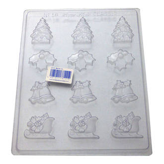 Bells & Holly Mould (0.6mm)