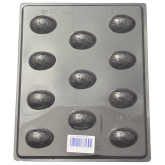 Small Cracked Easter Egg Mould (0.6mm)