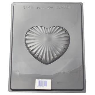 Large Heart Lid Mould (0.6mm)