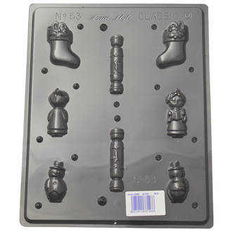 Small Christmas Shapes Mould (0.6mm)