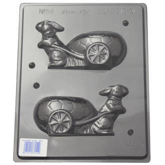 Rabbit & Cart Mould (0.6mm)