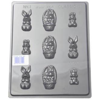 Small Rabbits Mould (0.6mm)