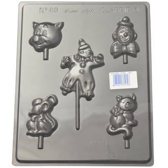 Assorted Clown Mould (0.6mm)