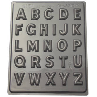 Alphabet Mould (0.6mm)