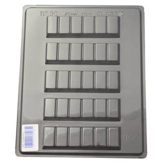 Chocolate Bar #2 Mould (0.6mm)
