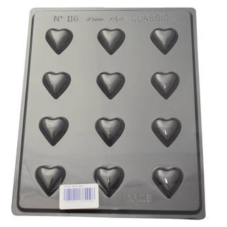 Small Hearts Mould (0.6mm)