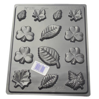 Assorted Leaves Mould 0.6mm