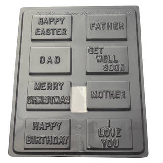 Assorted Messages Mould 0.6mm