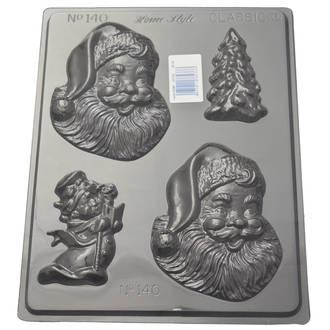 Happy Santa Mould 0.6mm