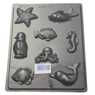 Sea Creatures Mould 0.6mm