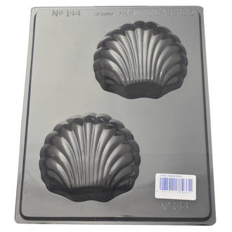 Scallop Shells Chocolate/ Soap Mould 0.6mm