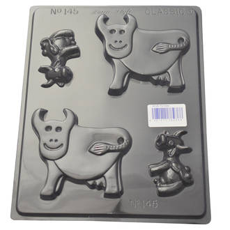 Cows Chocolate/ Soap Mould 0.6mm