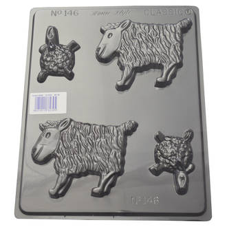 Sheep Chocolate/ Soap Mould 0.6mm