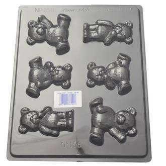 I Love Teddy Bears Mould 0.6mm