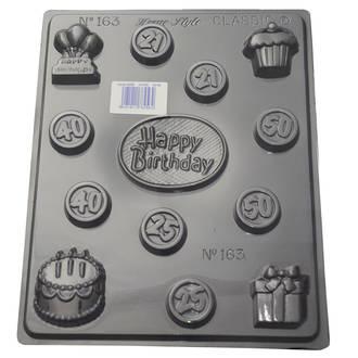 Happy Birthday Mould 0.6mm