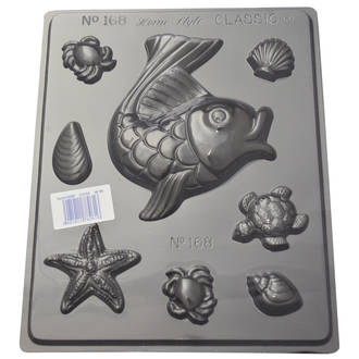 Seaside Shapes Chocolate/Craft Mould 0.6mm