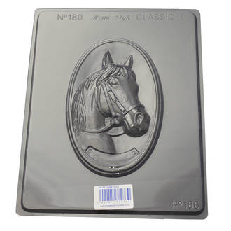 Horse Plaque Chocolate/Craft Mould 0.6mm
