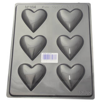 Large Hearts Mould 0.6mm