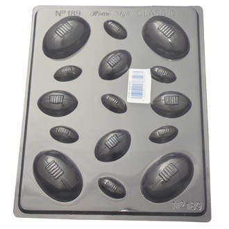 Rugby Balls Mould 0.6mm