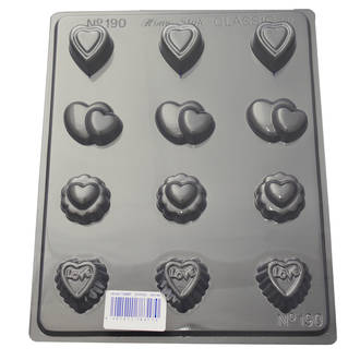 Assorted Sweet Hearts Mould 0.6mm