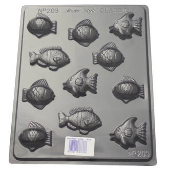 Assorted Small Fish Mould 0.6mm