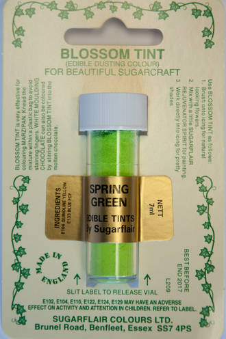 Sugarflair Edible Dusting Colour Spring Green