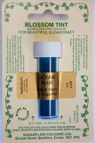 Sugarflair Edible Dusting Colour Ocean Blue