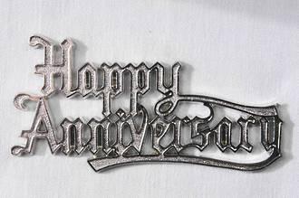 Happy Anniversary Silver 75mm ( 6)