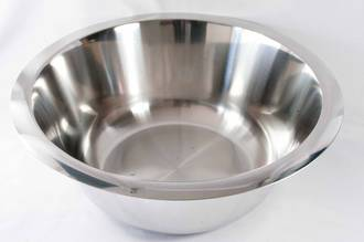 Bowl Stainless Steel,  10.6 litre - 355x150mm