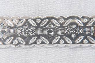 Cake Band Silver 12mm (50m)