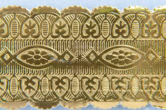 Cake Band Gold 25mm (50m)