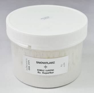 Sugarflair Edible Lustre Colour Snowflake 100g