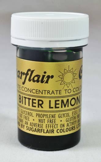 Sugarflair Spectral Colour Bitter Lemon (BBD:  END 2018)