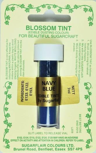 Sugarflair Edible Dusting Colour Navy Blue