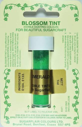 Sugarflair Edible Dusting Colour Emerald