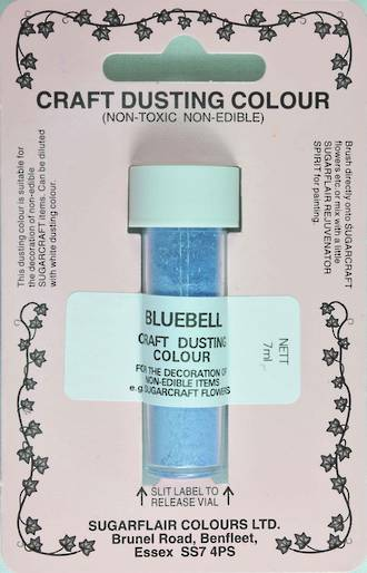 Sugarflair Craft Dusting Colour Bluebell