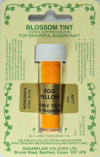 Sugarflair Edible Dusting Colour Egg Yellow